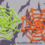 Crochet Spider Web by Jane Green of Beautiful Crochet Stuff