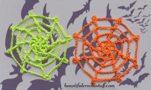 Crochet Spider Web by Jane Green of Beautiful Crochet Stuff