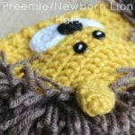 Preemie/Newborn Lion Hats by Cream Of The Crop Crochet