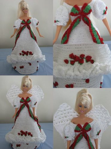 Barbie Christmas Angel By Donna S Crochet Designs