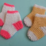 Baby Socks/Slippers by aamragul of Crochet/Crosia