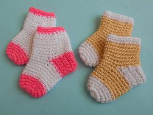 Baby Socks/Slippers by aamragul of Crochet/Crosia Home