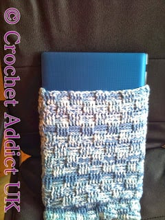 Laptop Cover by Crochet Addict