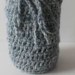 Drawstring Mason Jar Cozy by Marie Segares/Underground Crafter