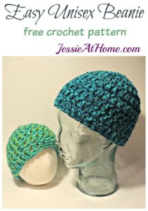 Easy Unisex Beanie by Jessie At Home