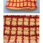 Checks Homespun Purse by Donna Collinsworth of Donna's Crochet Designs