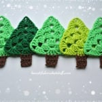 Free Crochet Christmas Tree Pattern by Jane Green of Beautiful Crochet Stuff