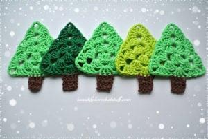 crochet-christmas-tree-pattern Free Crochet Christmas Tree Pattern by Jane Green of Beautiful Crochet Stuff