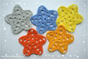 Crochet Star Free Pattern by Jane Green of Beautiful Crochet Stuff