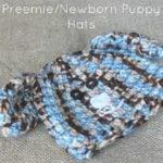 Preemie/Newborn Puppy Hats by Cream Of The Crop Crochet