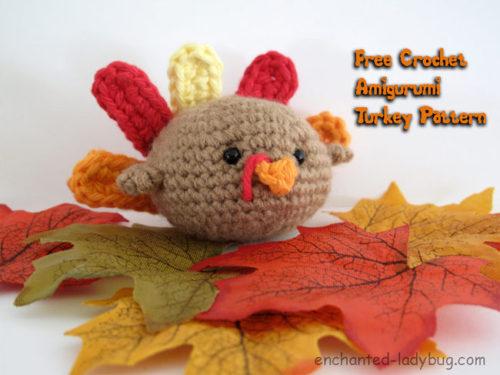 Free Turkey Amigurumi Pattern : Amigurumi turkey by enchanted ladybug crochet