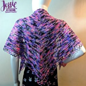 Loops and Ladders Shawl by Jessie At Home