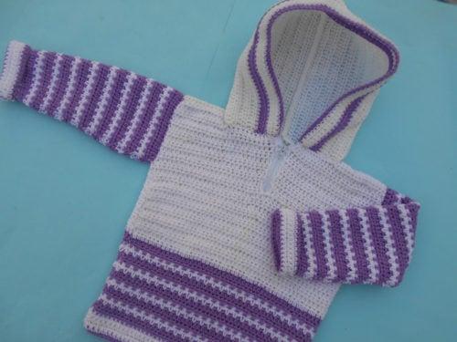 edd08dc43e3 Crochet Hooded Sweater by aamargul of Crochet Crosia Home