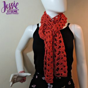 Trellis Scarf by Jessie At Home
