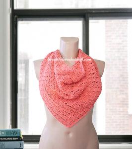 Triangle Shawl by Jane Green of Beautiful Crochet Stuff