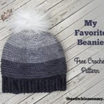 My Favorite Beanie by The Stitchin' Mommy