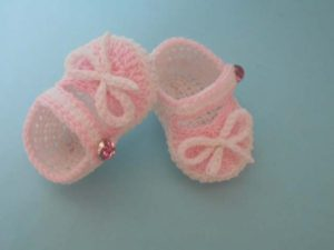Princess Cute Booties by aamragul of Crochet Crosia Home