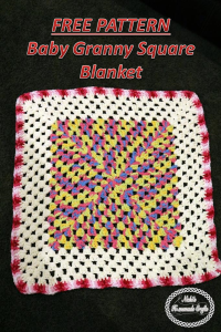 Baby Granny Square Blanket by Nicole Riley of Nicki's Homemade Crafts