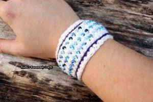 Beaded Bracelet by Nicole Riley of Nicki's Homemade Crafts
