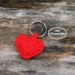 Small Heart Keychain by Nicole Riley of Nicki's Homemade Crafts