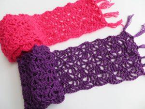 Alana Lacy Scarf by Crochet-dreamz