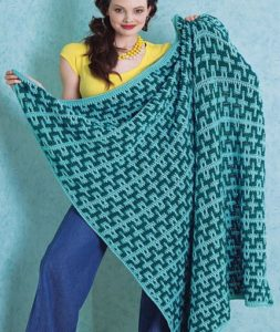 Beach Blanket by Melissa Leapman for Red Heart