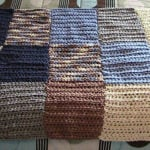 Bernat Color Blocked HDC Lap Blanket by Heather's Crochet Designs