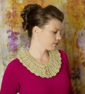 Vintage Crochet Collar by Cre8tion Crochet