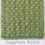 Piggyback Stitch Warm Up America Block By Marie Segares/Underground Crafter