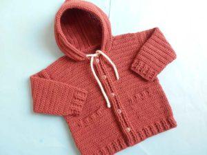 Baby Jacket/Cardigan by aamragul of Crosia Home