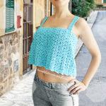 Crochet Crop Top by Jane Green of Beautiful Crochet Stuff