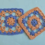 Crochet Flower Granny Square by Aamragul of Crosiahome