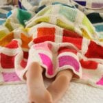 Bears Rainbow Blanket by Purl Soho