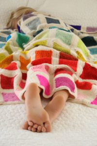 Bears Rainbow Blanket by Purl Soho