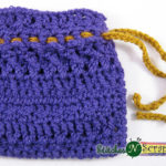 Drawstring Bag by Stitches 'N' Scraps