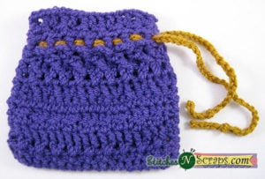 Drawstring Bag by Stitches 'N' Scraps