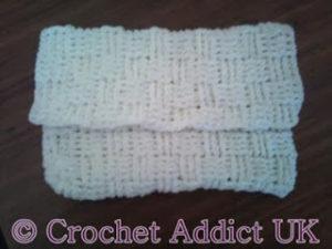 Basket Weave Handbag by Crochet Addict