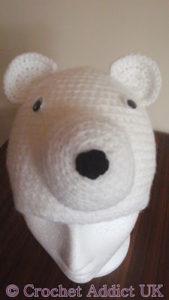 Polar Bear Beanie by Crochet Addict