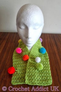 Jester Scarflette/Scarf by Crochet Addict