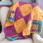 Sweet Treat Baby Blanket by Marie Segares/Underground Crafter