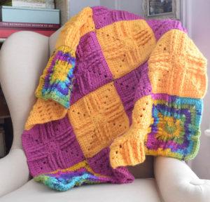 Sweet Treat Baby Blanket by Marie Segares/Underground Crafter