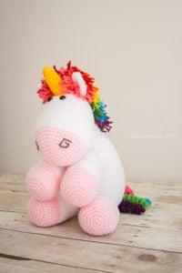 Rainbow Cuddles Unicorn by One Dog Woof