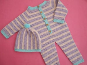 Crochet Baby Romper Tutorial by Aamragul of Crochet Crosia Home