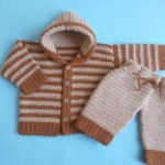 Baby Jacket and Pants by Aamragul of Crosia Home