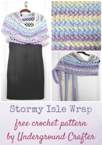 Stormy Isle Wrap by Marie Segares/Underground Crafter