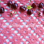 Diamond Crochet Stitch Free Pattern by Jane Green of Beautiful Crochet Stuff
