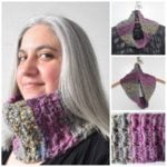 Quick Covered Boxes Cowl by Marie Segares/Underground Crafter