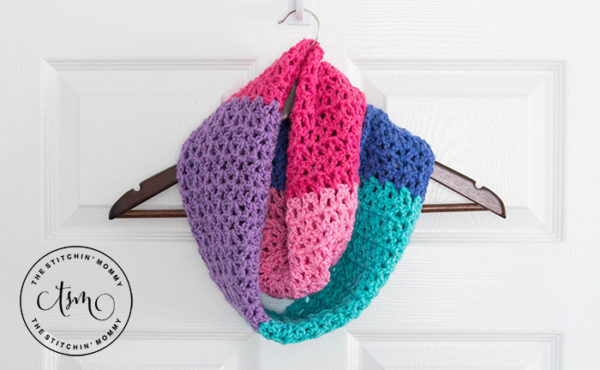 Berry Cakes Infinity Scarf by The Stitchin' Mommy