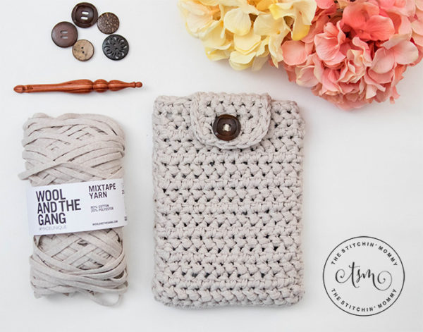 Herringbone Tablet Cover by The Stitchin' Mommy