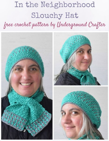 In the Neighborhood Slouchy Hat by Marie Segares/Underground Crafter